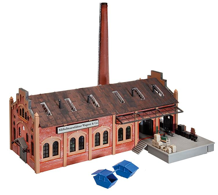 Faller 130978 Ho Scale Wagner Amp Co Furniture Factory Ii
